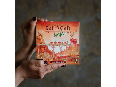 Railroad Ink - Ohnivě rudá edice
