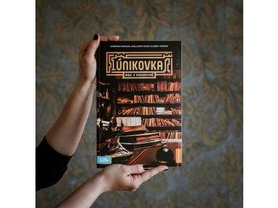 Kniha Únikovka - Noc v knihovně